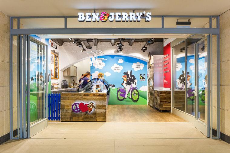 Ben & Jerry's - Kek Bv interieurbouw Den Bosch