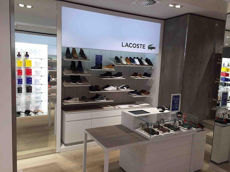 Lacoste - Kek Bv interieurbouw Den Bosch