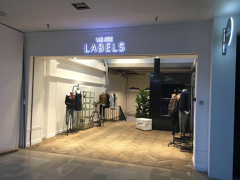 We Are Labels - Kek Bv interieurbouw Den Bosch